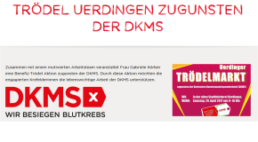 Trödel Uerdingen zugunsten der DKMS