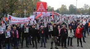 Bahnaktionstag bei Siemens in Krefeld #FüreinestarkeSchiene
