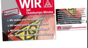 Outokumpu Nirosta – Aufruf zur Personenwahl