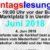 Immer wieder montags:  Montagslesungen im Juni 2018