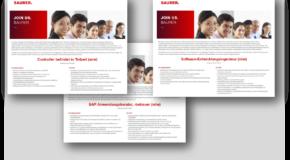 Stellenanzeigen der Saurer Technologies GmbH & Co. KG